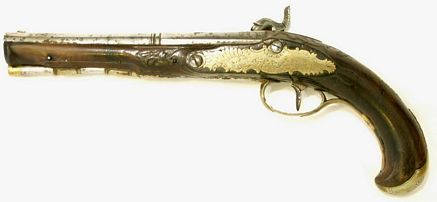 1690/1700 Fine English Georgian Pistol