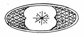 11650 - Brass oval inlay - Inlays