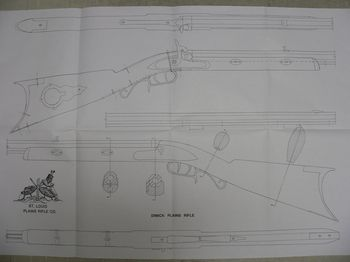 31410-Dimick rifle drawing - Books-Videos-Drawings