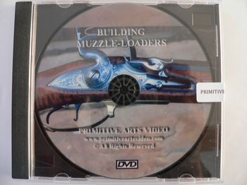 51090DVD - Building Muzzleloaders - DVD - Books-Videos-Drawings