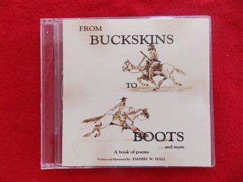 CD4-BB From Buckskins to Boots poems CD by Daniel W. Hall - Books-Videos-Drawings
