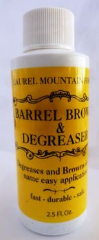 LMBLBROWN - Laurel Mountain Forge Barrel Brown & Degreaser, 2.5 oz. - Gun-Finishes