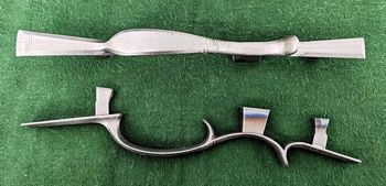 Sand Cast Muzzleloading Trigger Guards Brass or German Silver